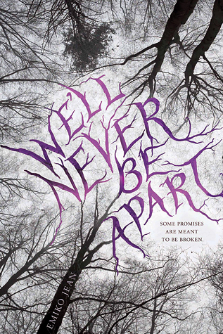 We'll Never Be Apart by Emiko Jean book cover