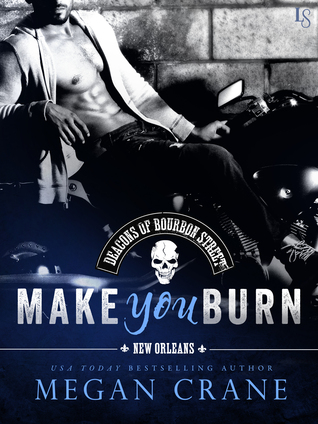 Make You Burn (The Deacons of Bourbon Street, #1)