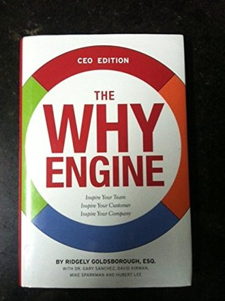 The Why Engine CEO Edition  by  Inspire Your Team Inspire Your Customer Inspire Your Company