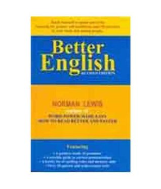 Better English Norman  Lewis