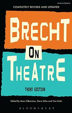 Brecht On Theatre Bertolt Brecht
