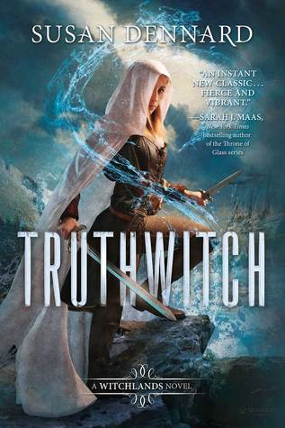 Truthwitch by Susan Dennard book cover