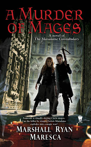 A Murder of Mages (The Maradaine Constabulary, #1)