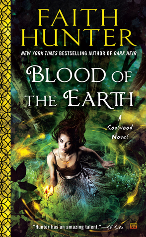 Review: Blood of the Earth by Faith Hunter (@jessicadhaluska, @HunterFaith, @AceRocBooks)