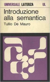 Introduzione alla Semantica  by  Tullio De Mauro