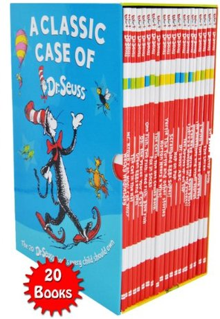 A Classic Case of Dr. Seuss 20 Books Box Set Pack Collection Includes Lorax NEW Dr. Seuss