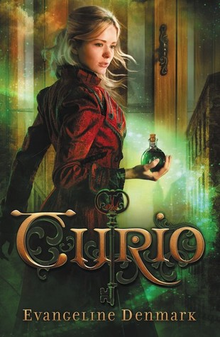 Curio by Evangeline Denmark book cover