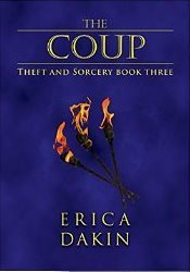 Fantasy Romance Review: 'The Coup' by Erica Dakin