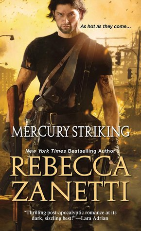 #Review: Mercury Striking (The Scorpius Syndrome #1) @RebeccaZanetti #apocalypse #suspensefulromance