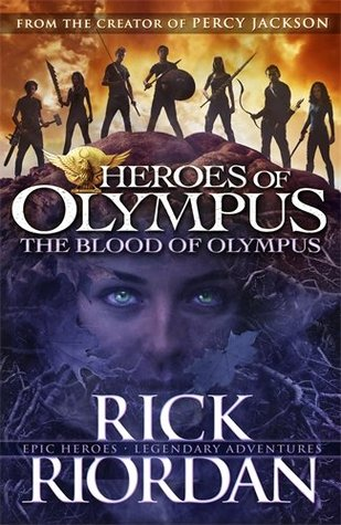 Review: 4 stars to The Blood Of Olympus (Heroes of Olympus #5) by Rick Riordan