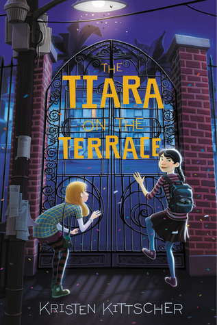 The Tiara on the Terrace (The Wig in the Window, #2)