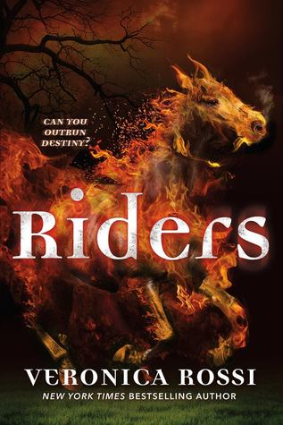 Riders by Veronica Rossi book cover