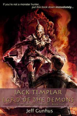 cover Jack Templar and the Lord of the Demons