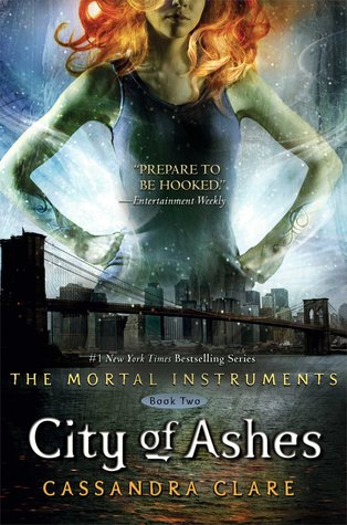 City of Ashes by Cassandra Clare book cover