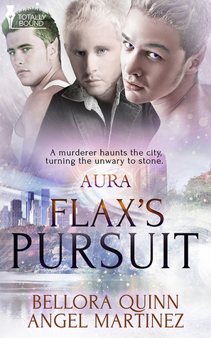 Release Day Review: Flax's Pursuit (AURA #2) by Bellora Quinn and Angel Martinez