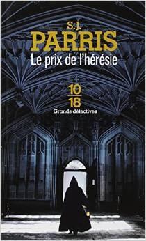 Le prix de l'hérésie (Giordano Bruno, #1)