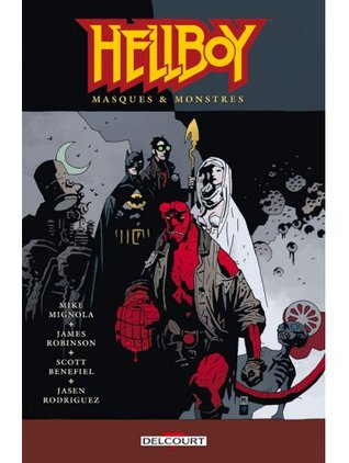 Hellboy 14 - Masques & Monstres  by  Mike Mignola
