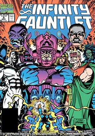 Infinity Gauntlet #5 (of 6)  by  Jim Starlin