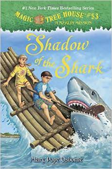 Shadow of the Shark (Magic Tree House, #53)