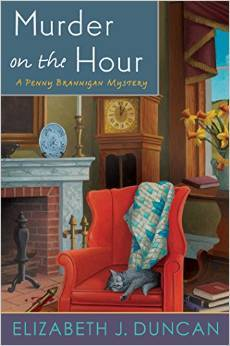 Murder on the Hour by Elizabeth J. Duncan