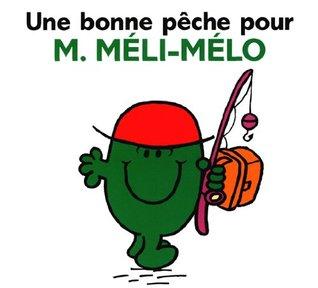 Une bonne peche pour M. Meli-Melo  by  Roger Hargreaves