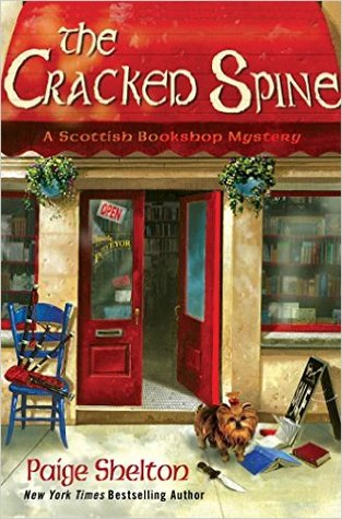 The Cracked Spine (Scottish Bookshop Mystery #1)
