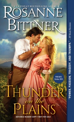 Thunder on the Plains by Rosanne Bittner