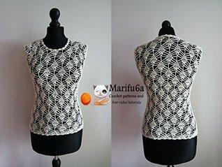 crochet blouse top pattern  by  marifu6a: crochet blouse top pattern by marifu6a by marifu6a