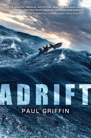 Book Cover of Adrift by Paul Griffin