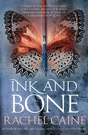 Ink and Bone by Rachel Caine book cover