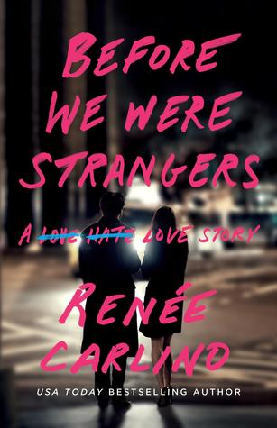Matt from Before We Were Strangers by Renee Carlino