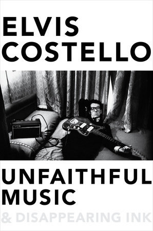 Music author Elvis Costello