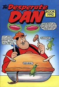 The Desperate Dan book 1992.  by  Various
