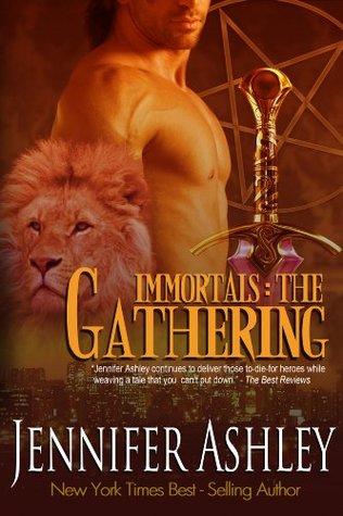 The Gathering (Immortals #4)  - Jennifer Ashley