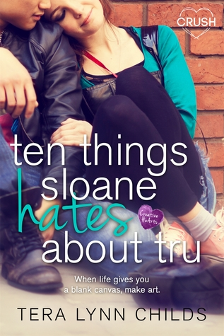 {Review} Ten Things Sloane Hates About Tru by Tera Lynn Childs