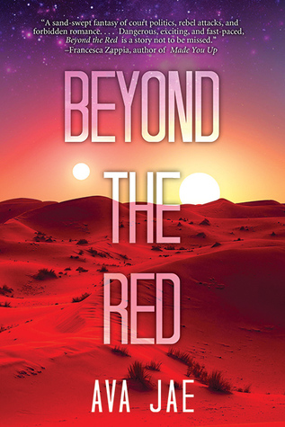 Review ~ Beyond the Red by Ava Jae| Anatea's Bookshelf