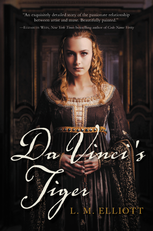 Da Vinci's Tiger by L.M. Elliott  book cover