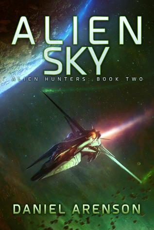 Alien Sky (Alien Hunters #2) - Daniel Arenson