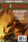 Magazine of Fantasy and Science Fiction September/October 2015
