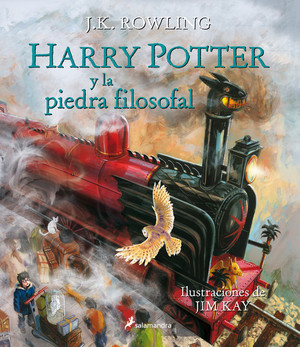 Harry Potter y la piedra filosofal. Edición Ilustrada (Harry Potter, #1)