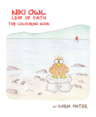 Niki Owl, Leap of Faith - The Coloring Book by Karin Pinter