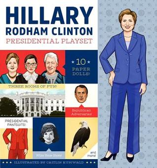 cover Hillary Rodham Clinton Presidential Playset