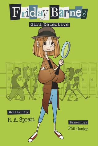 cover Friday Barnes Girl Detective