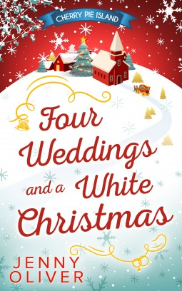 Four Weddings and a White Christmas (Cherry Pie Island, #5)