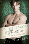 A Gentleman's Position (Society of Gentlemen, #3)