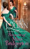 Because of Miss Bridgerton (Rokesbys #1)