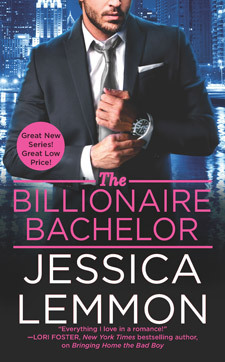 {Review} The Billionaire Bachelor by Jessica Lemmon (with Top 5 List and Giveaway)