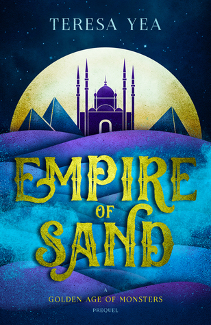 Empire of Sand by Teresa Yea #BookReview