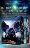 Alien Captive Box Set (Alien Shapeshifter Romance): Alien Abduction Romance (Qui Treaty Collection, 7