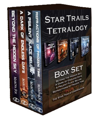 Star Trails Tetralogy Deluxe Box Set by Marcha A. Fox